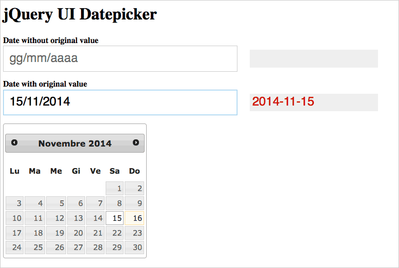 Date picker base theme in Firefox