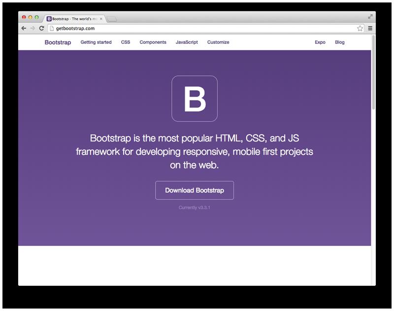 Front-end framework 1: Bootstrap