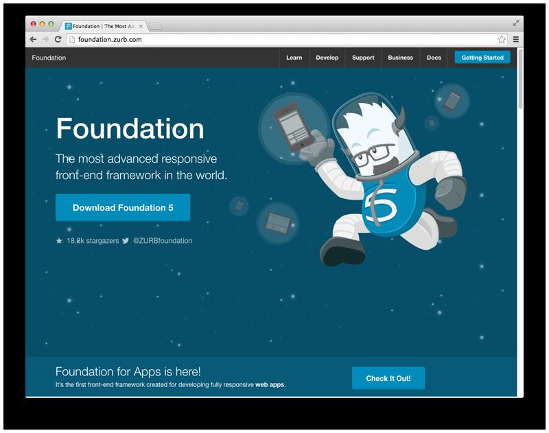 Front-end framework 2: ZURB Foundation
