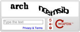 The Old reCAPTCHA