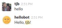 Hellobot Response