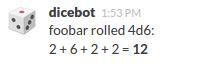 Dicebot Response