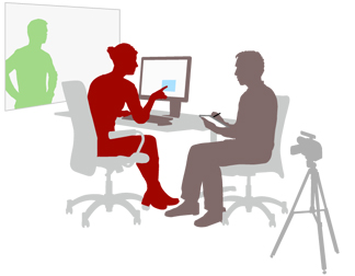 usability testing illustration