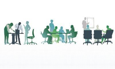 Büro Besprechungungen