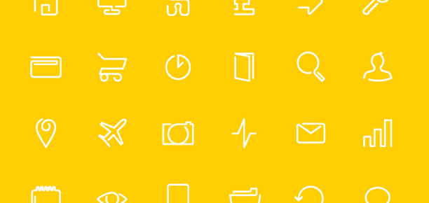 Free Continuos Line Icon Pack
