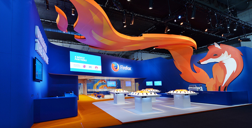 Firefox stand at MWC 2014