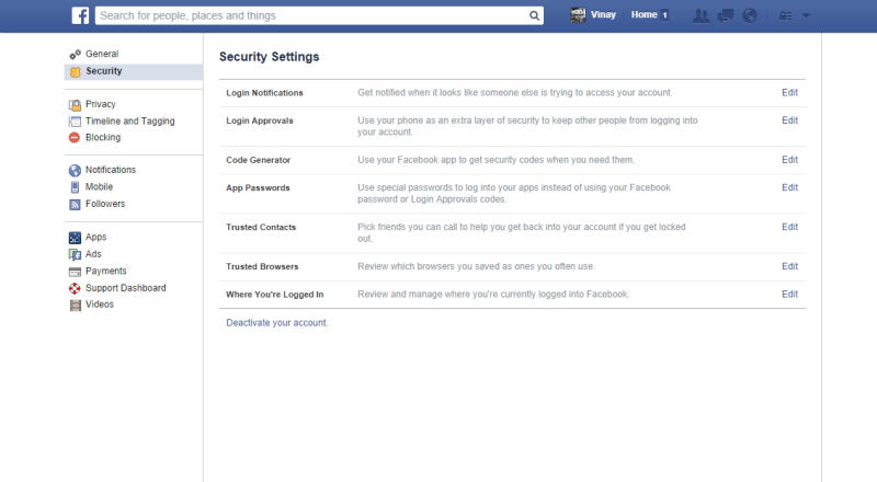 Facebooks 'chunked' settings