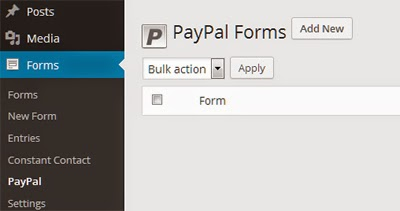 PayPal Forms