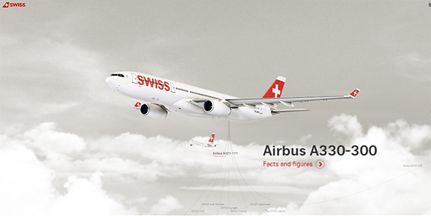Swiss Air Airbus