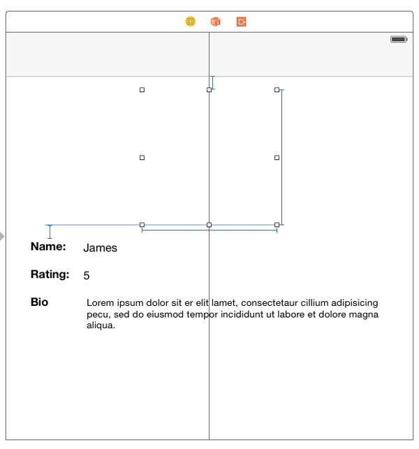 Selecting UI element