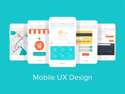 Mobile UX Design - 5 apps
