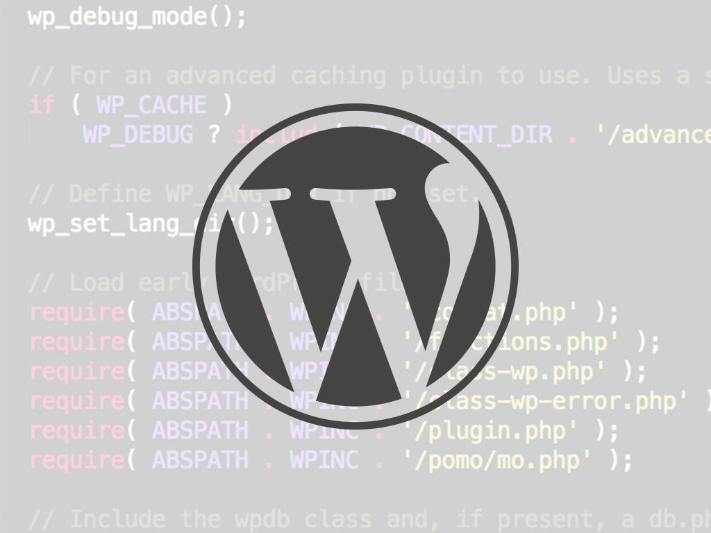 WordPress WP_Error Class