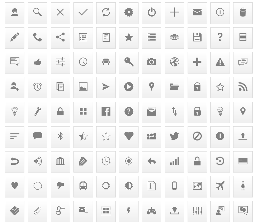 Mixed Android Icons and More