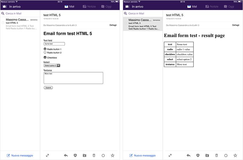 Yahoo's IOS client