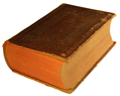 Image of a large tome