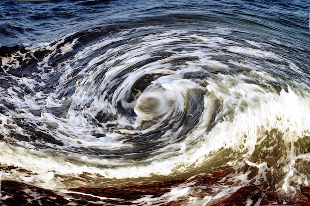 Vortice in mare
