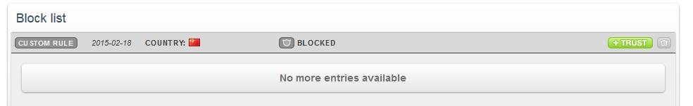 CloudFlare Block 2