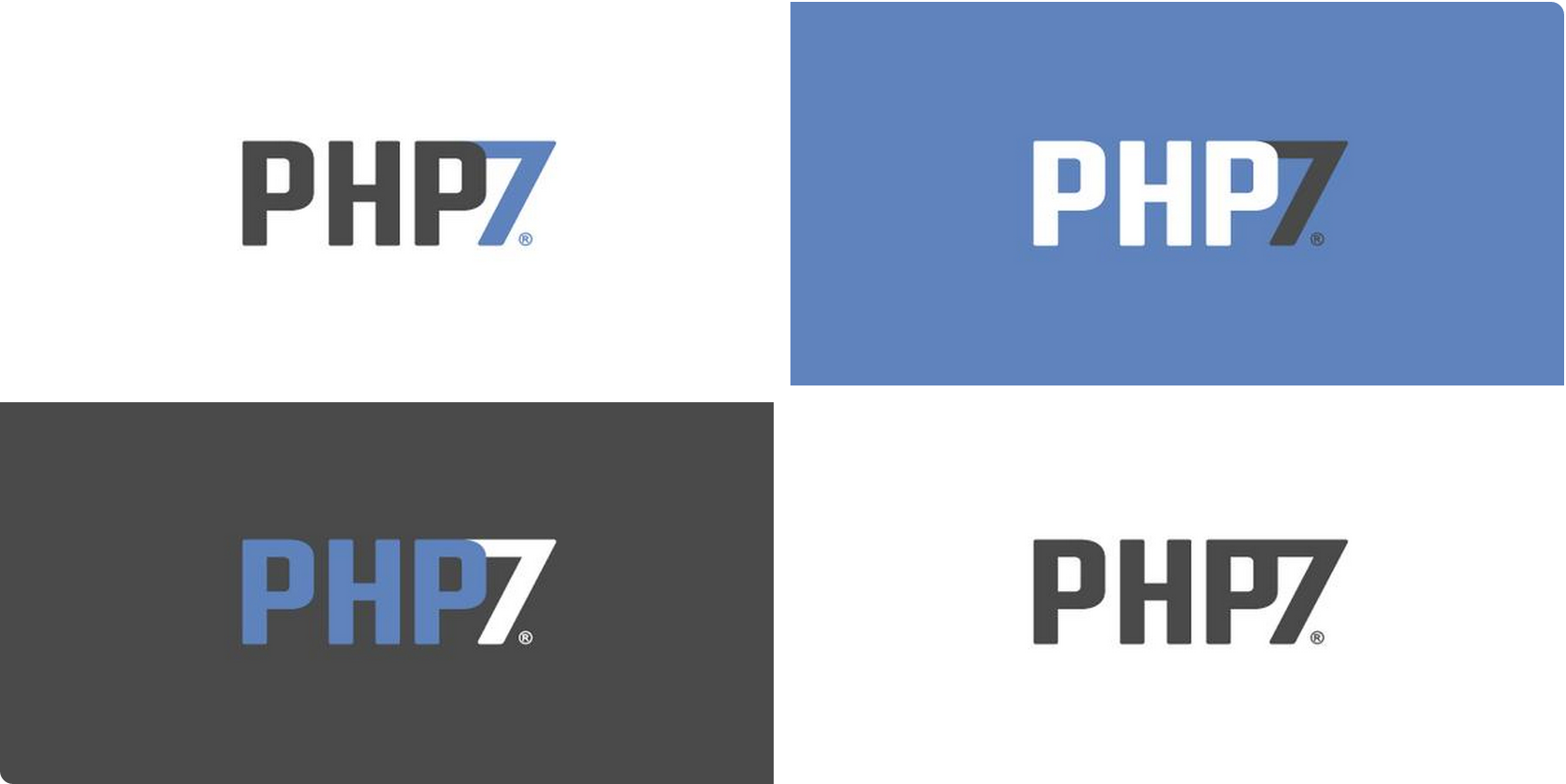 Php7 logo by Vincent Pontier