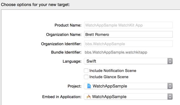 Naming Watch Application