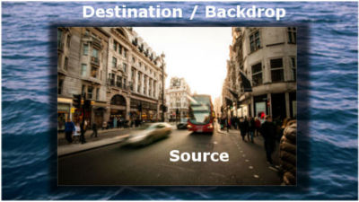 Source and Destination/Backdrop