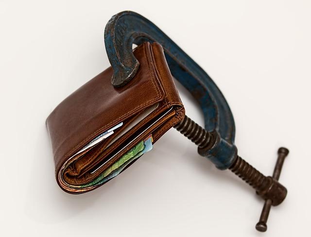 Squeezing cash