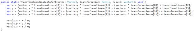 Babylon.js code