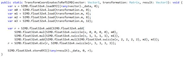 More Babylon.js code