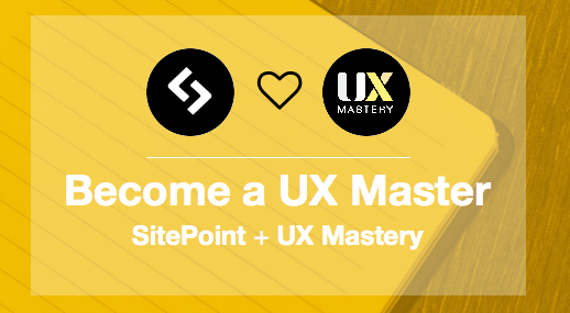 UX Mastery books now available on SitePoint
