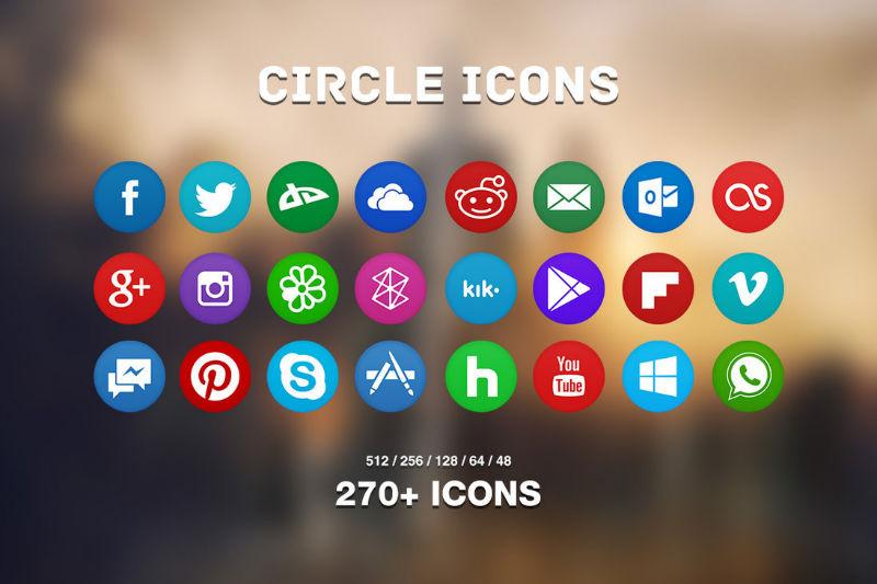 Social - 02 - circle_icons_pack
