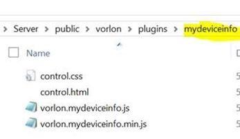 JS/TypeScript code for the plugin
