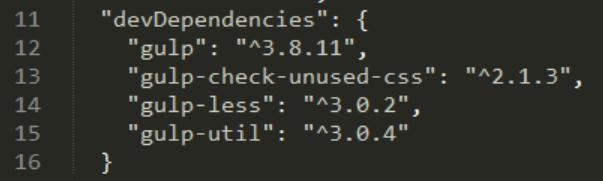 Dev Dependencies