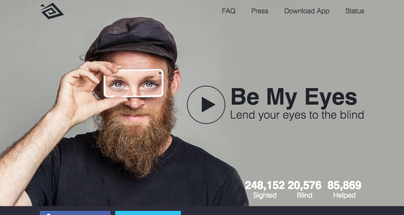 Website: Be My Eyes
