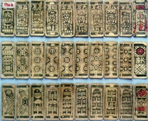 Ancient Chinese Playing cards