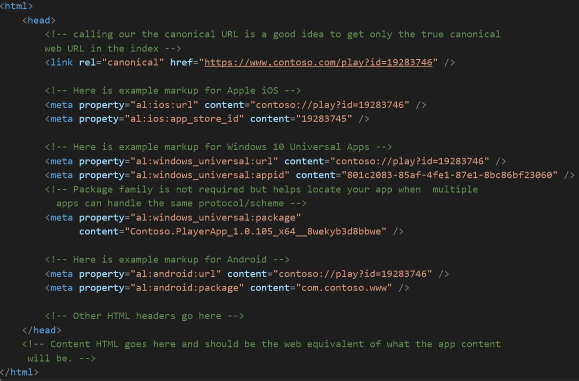 Meta Tag Details