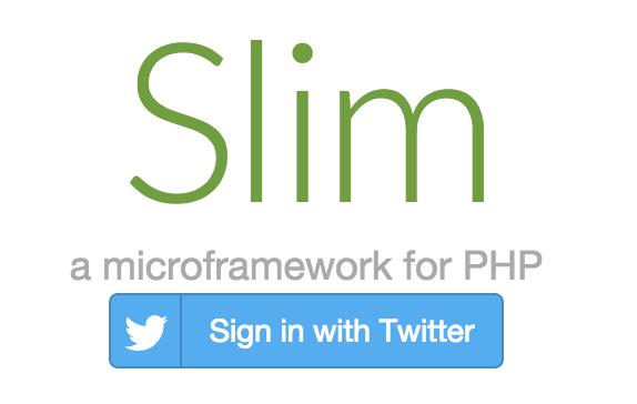 Screenshot of working social button