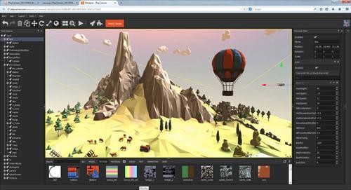 PlayCanvas demo