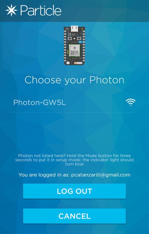 Choosing Your Photon