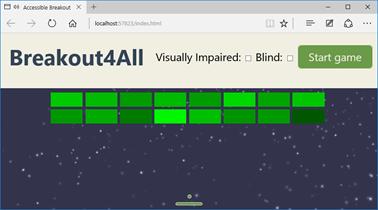 Demo game using SVG viewbox