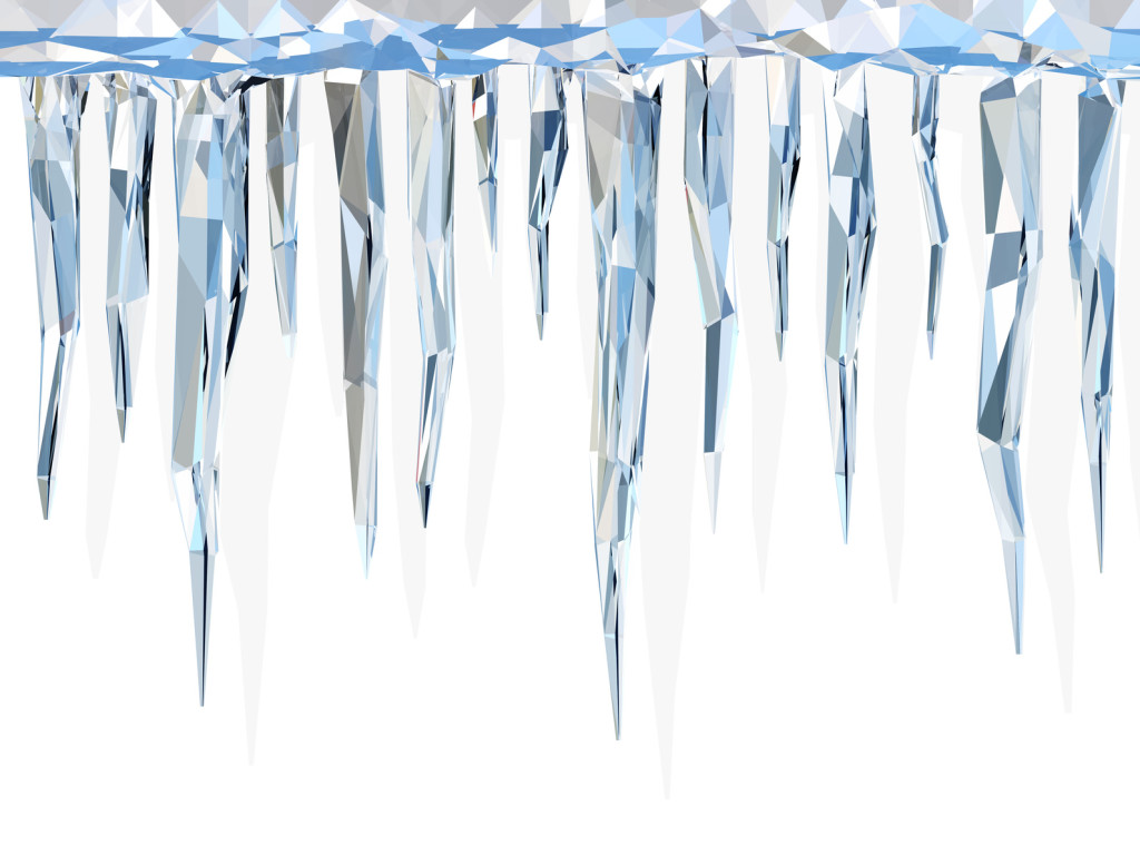 Icicles illustration