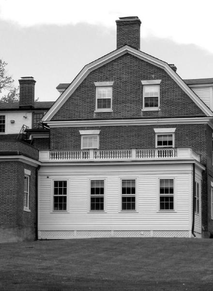 brick house grayscale version