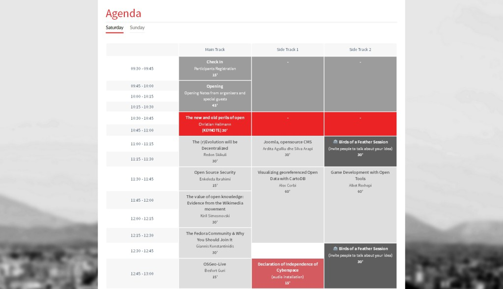 Responsive Timetable Plugin for WordPress