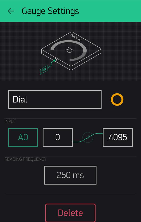 Our Dial Widget