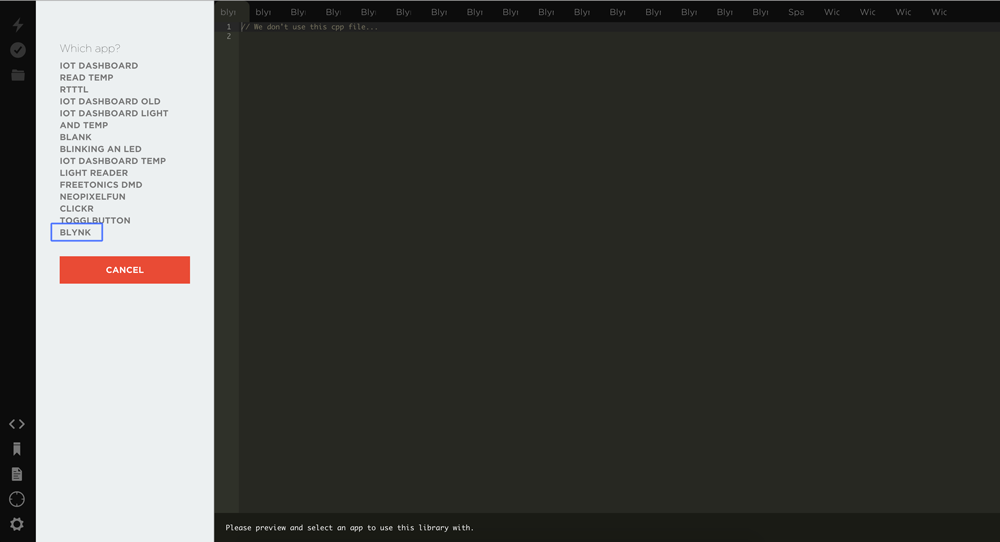 Adding to Particle App