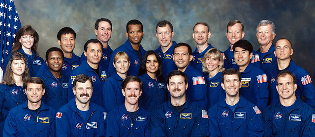 NASA Astronaut Group 15 — original image before face detection