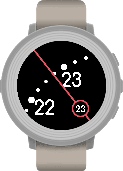 The Zoomed In Pebble App