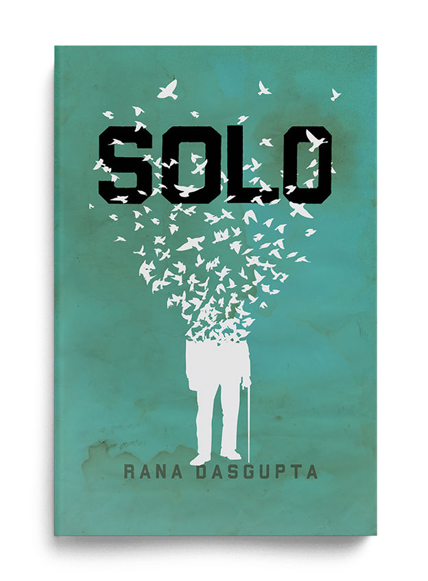 """Solo"" book cover by The Heads of State"