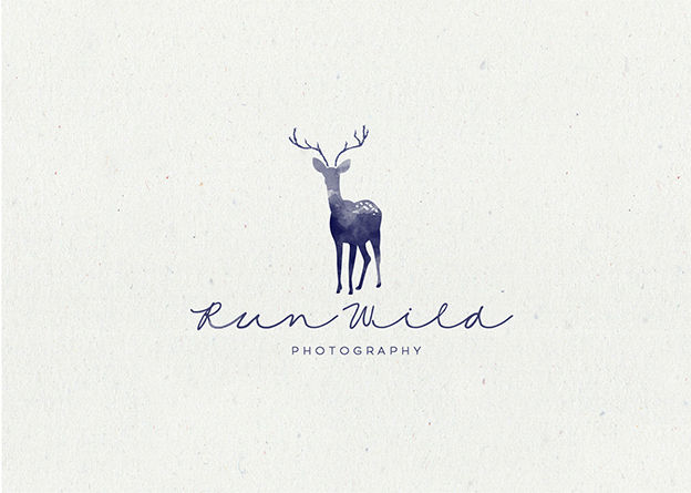 Run Wild Photography logo by S A V