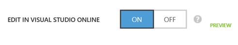 Change config.json file on Azure Web App