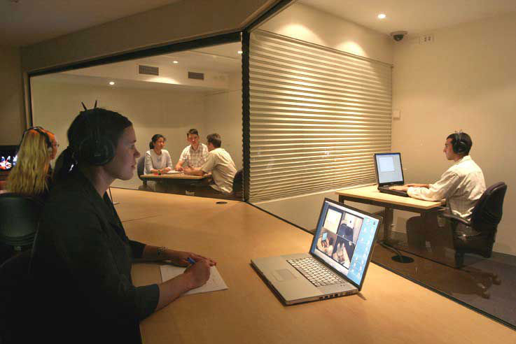 The usability lab at university of Queensland