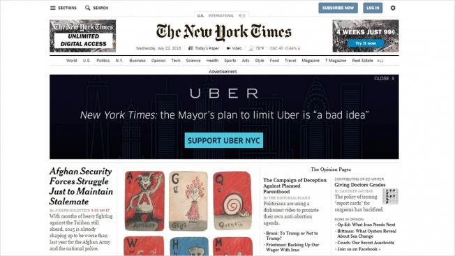 uber nytimes
